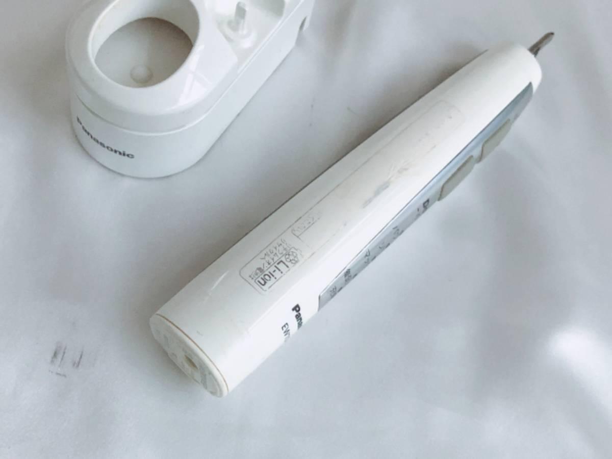 【完動品】パナソニック Panasonic ドルツ・イオン 音波式 電動歯ブラシ EW1045P ホワイト_画像7