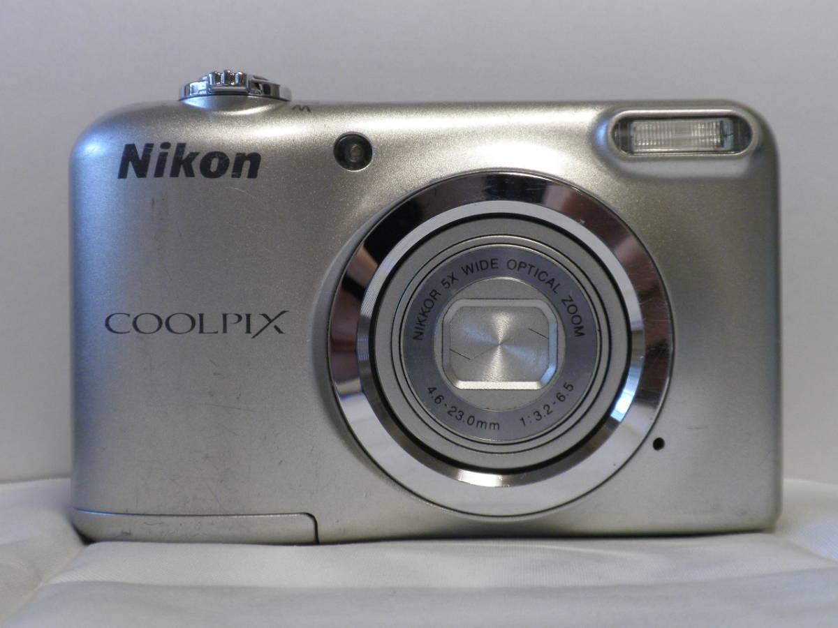 単三仕様 デジカメ Nikon COOLPIX A10 シルバー (16.14メガ) 4818_画像2