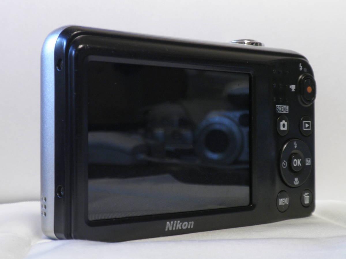 単三仕様 デジカメ Nikon COOLPIX A10 シルバー (16.14メガ) 4818_画像5