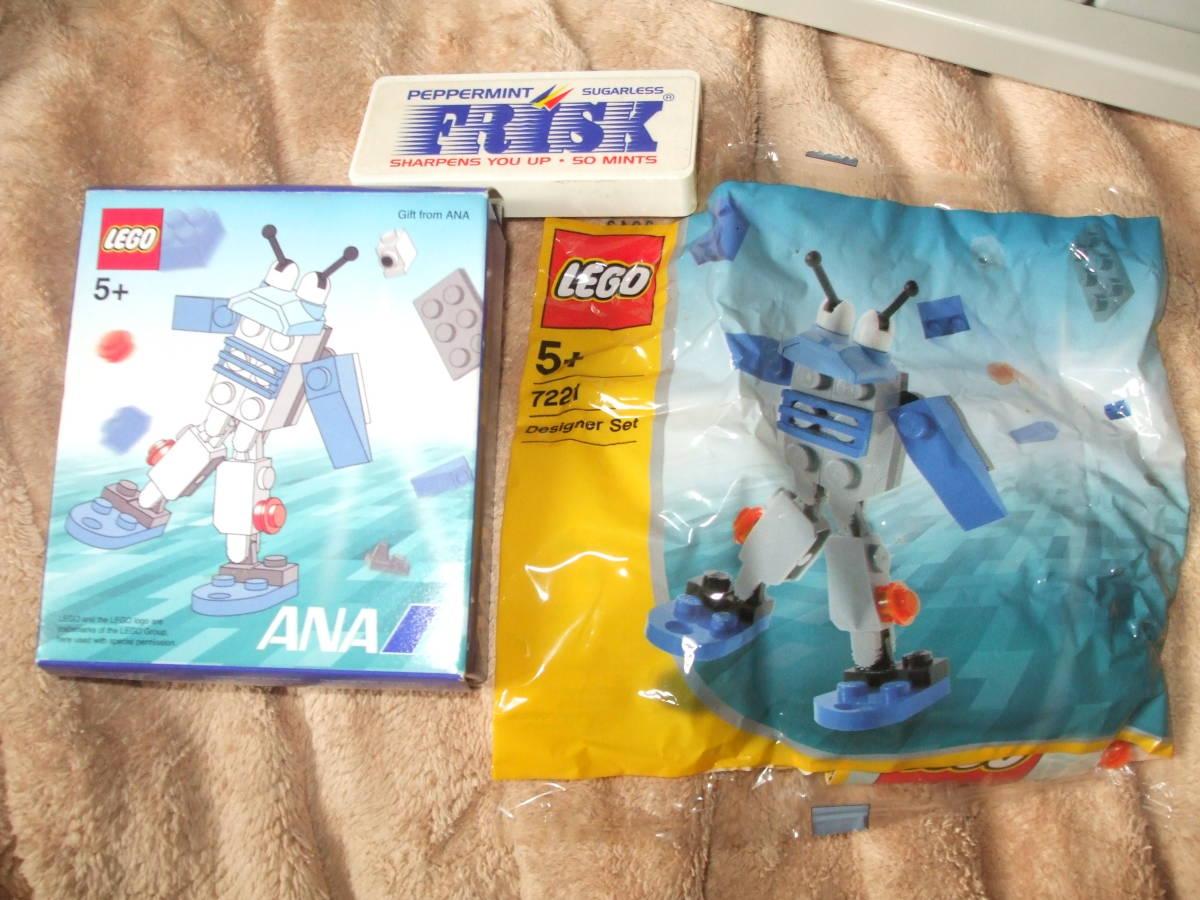 ☆レゴ LEGO ノベルティー レア 【 新品 未開封 】飛行機 ANA 飛行機 全日本空輸 です。_画像1