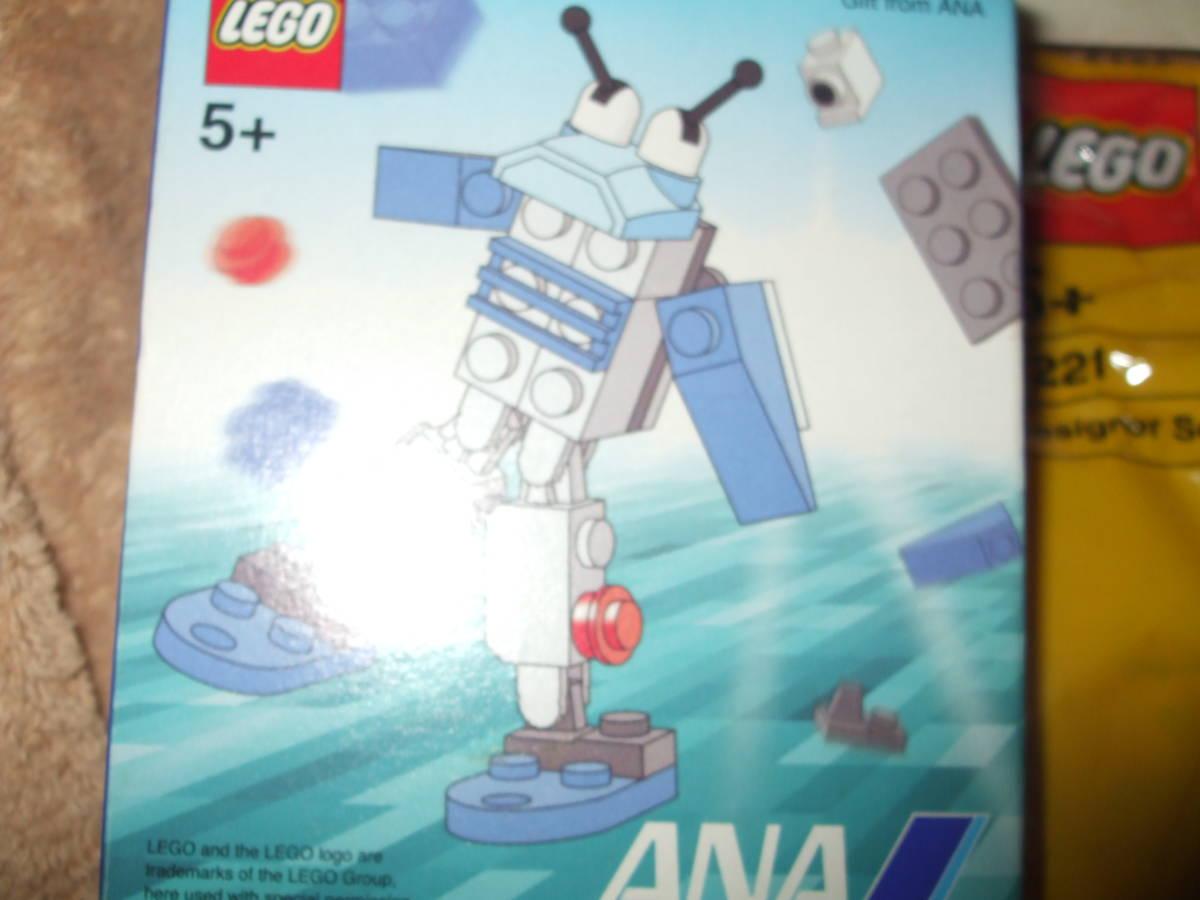 ☆レゴ LEGO ノベルティー レア 【 新品 未開封 】飛行機 ANA 飛行機 全日本空輸 です。_画像2