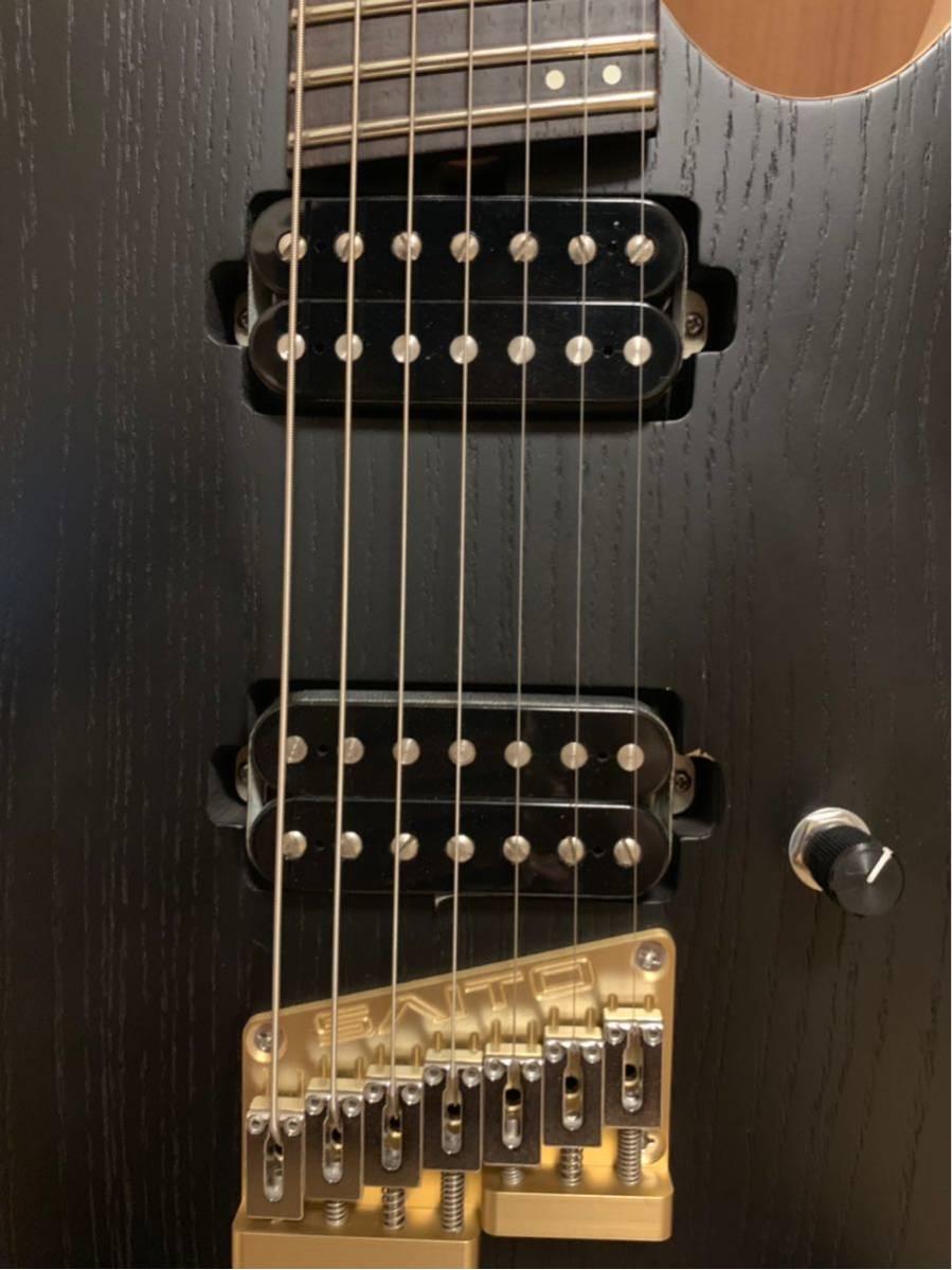 saito guitars S-724MS エレキギター 7弦ギター_画像4