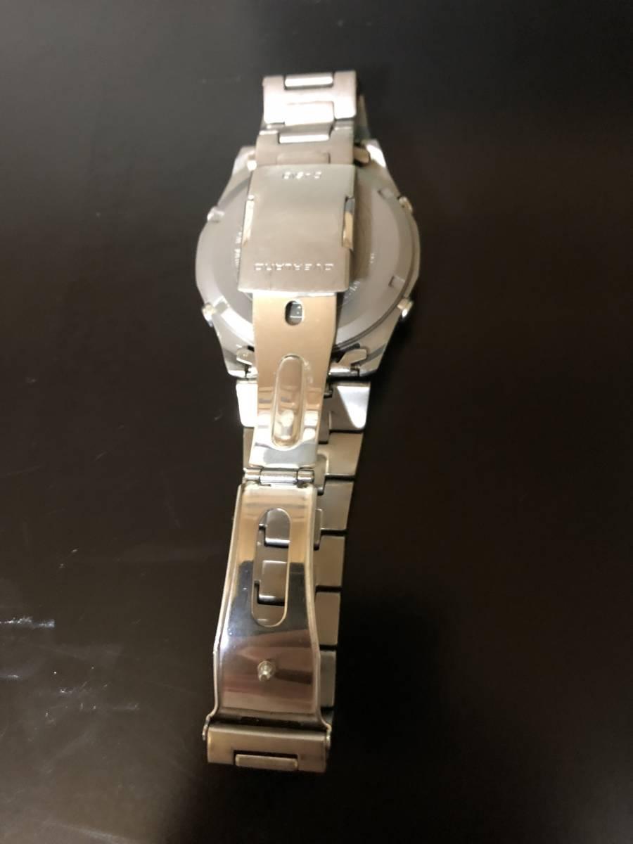 【送料込み】カシオ 電波ソーラー腕時計 チタン製 オーバーランド CASIO OVERLAND OAW-100【最落なし/格安スタート】_画像2