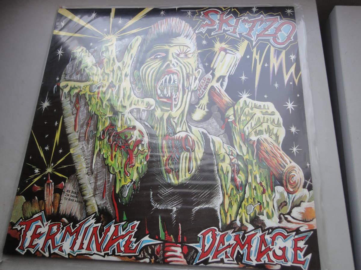 ★ SKITZO LP オリジナル盤  Nervous Records ネオロカ サイコビリー ロックンロール パンク CLASH ALL RANCID 666 ロカビリー_オリジナル盤