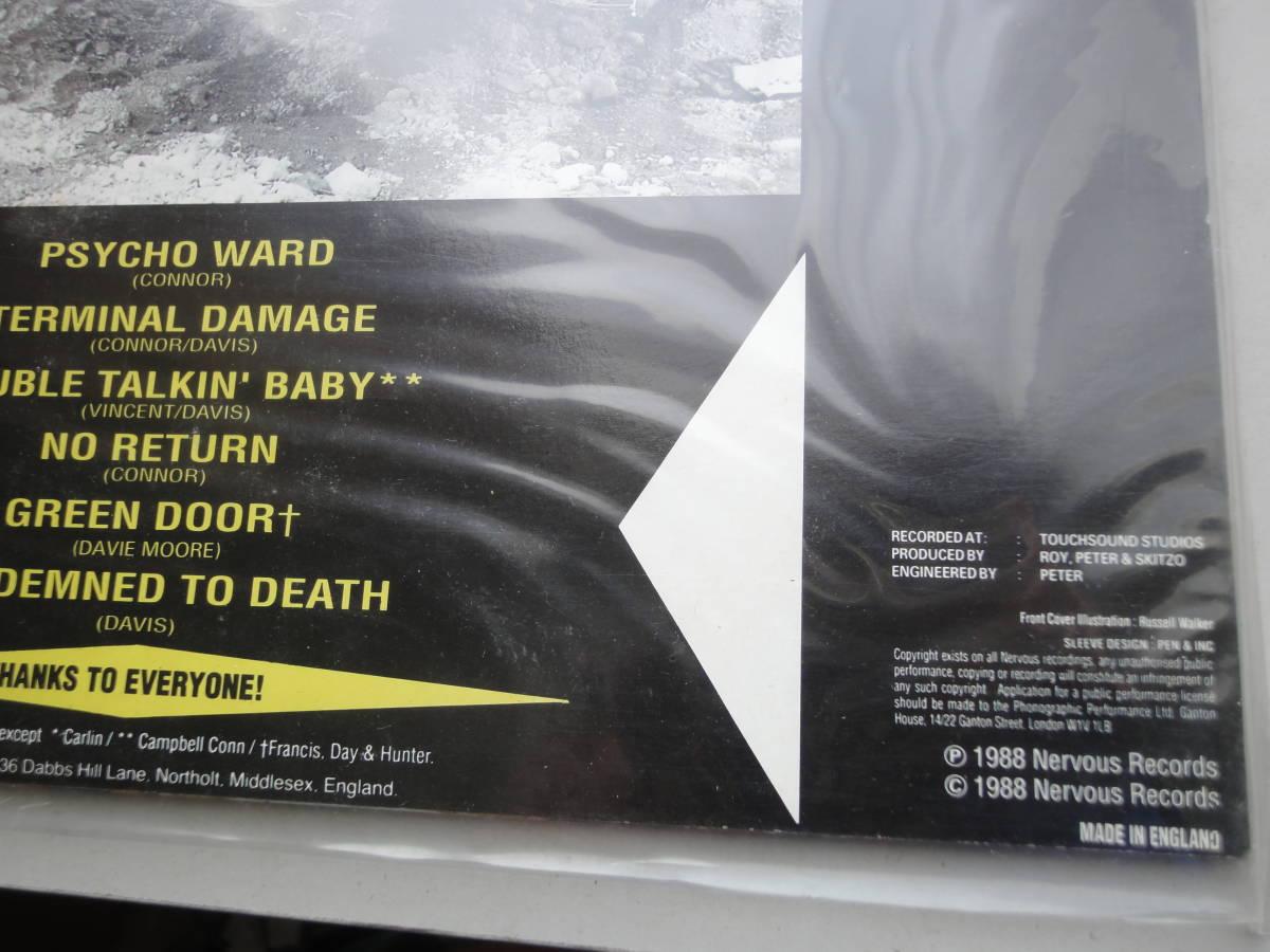 ★ SKITZO LP オリジナル盤  Nervous Records ネオロカ サイコビリー ロックンロール パンク CLASH ALL RANCID 666 ロカビリー_画像4