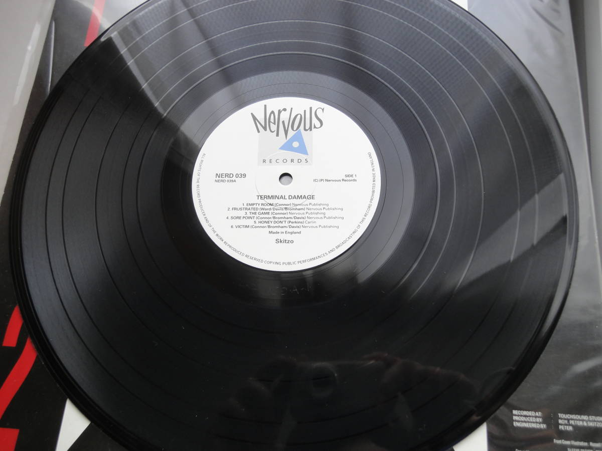 ★ SKITZO LP オリジナル盤  Nervous Records ネオロカ サイコビリー ロックンロール パンク CLASH ALL RANCID 666 ロカビリー_画像6