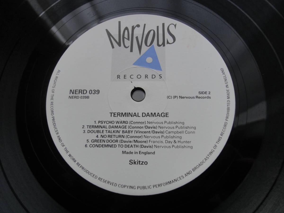 ★ SKITZO LP オリジナル盤  Nervous Records ネオロカ サイコビリー ロックンロール パンク CLASH ALL RANCID 666 ロカビリー_画像7
