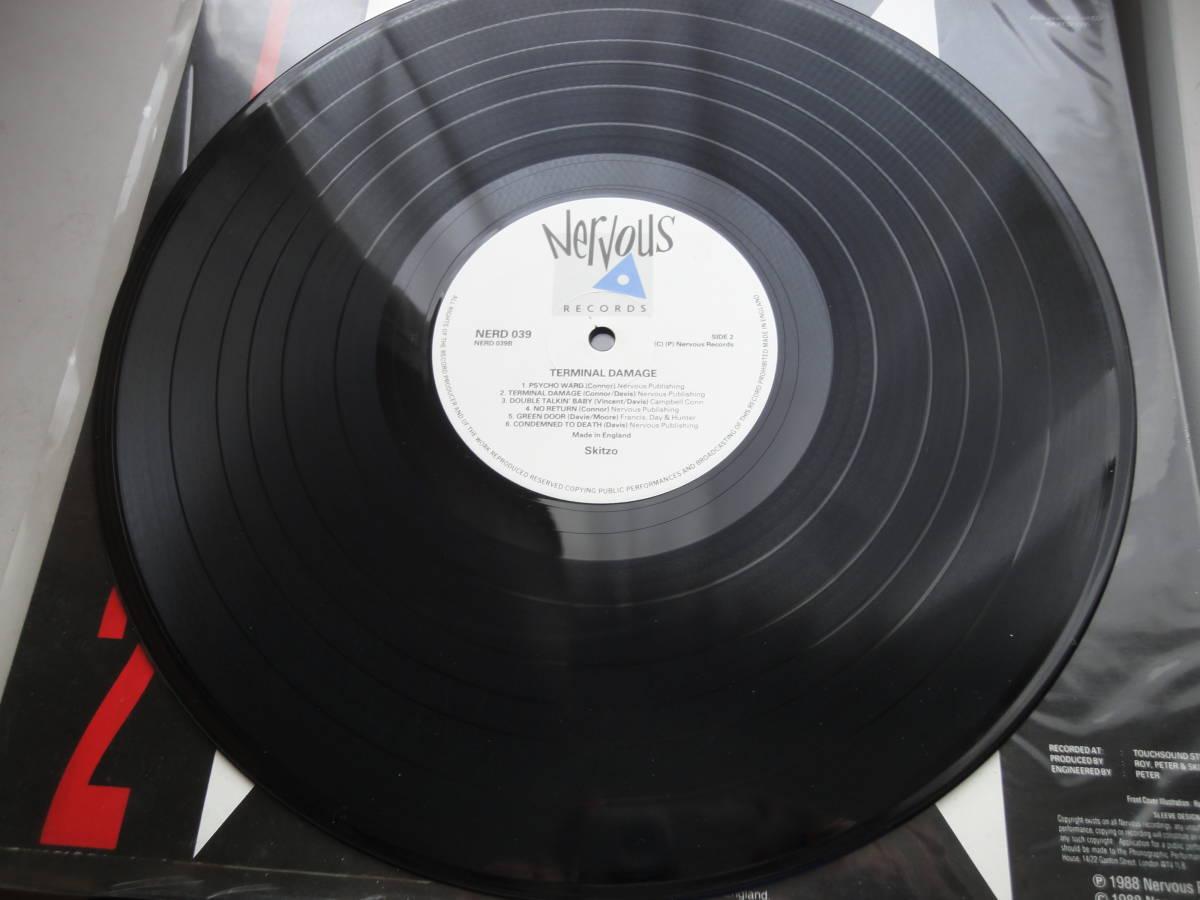 ★ SKITZO LP オリジナル盤  Nervous Records ネオロカ サイコビリー ロックンロール パンク CLASH ALL RANCID 666 ロカビリー_画像8