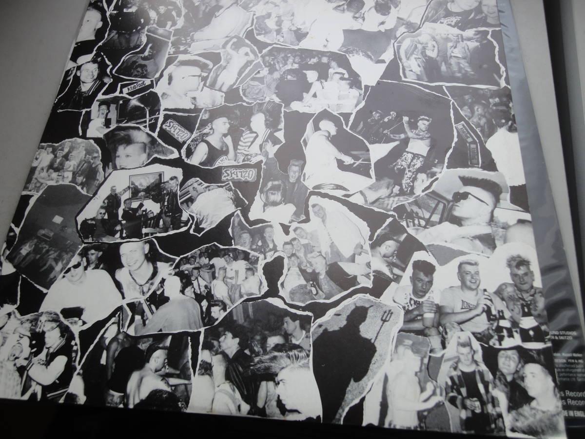 ★ SKITZO LP オリジナル盤  Nervous Records ネオロカ サイコビリー ロックンロール パンク CLASH ALL RANCID 666 ロカビリー_画像10