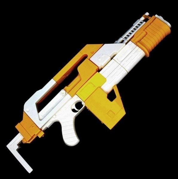 ☆エイリアン2 植民地海兵隊M41パルスライフル 3Dレジン製未組立 解説書付_画像2
