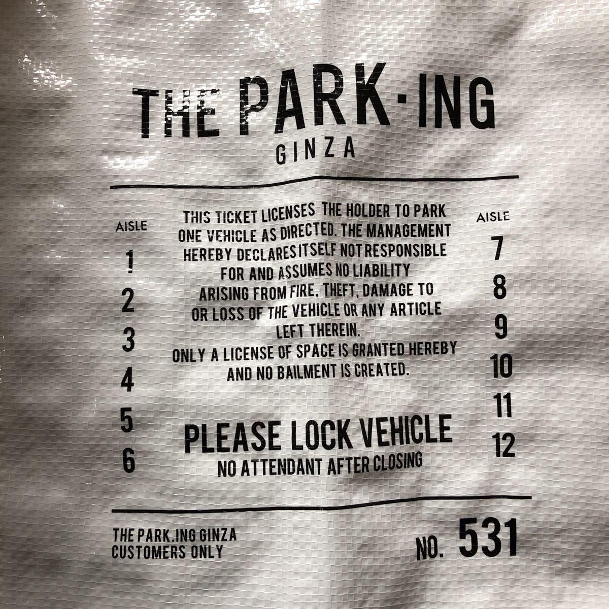 THE PARKING GINZA パーキング ギンザ トートバッグ 藤原ヒロシfragment_画像4