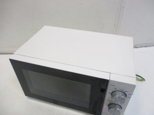 ○amadana アマダナ ツインバード 電子レンジ 50Hz専用 AT-DR11 17年製 E-6104○_画像2