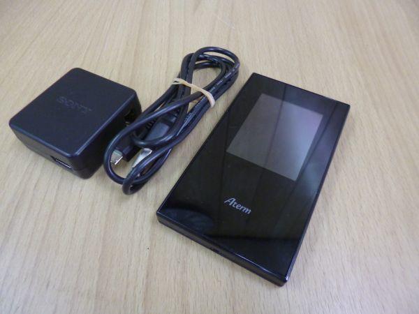 動作保証■NEC Aterm モバイル/wi-fiルーター SIMロックフリー/デュアルSIM対応 PA-MR04LN■
