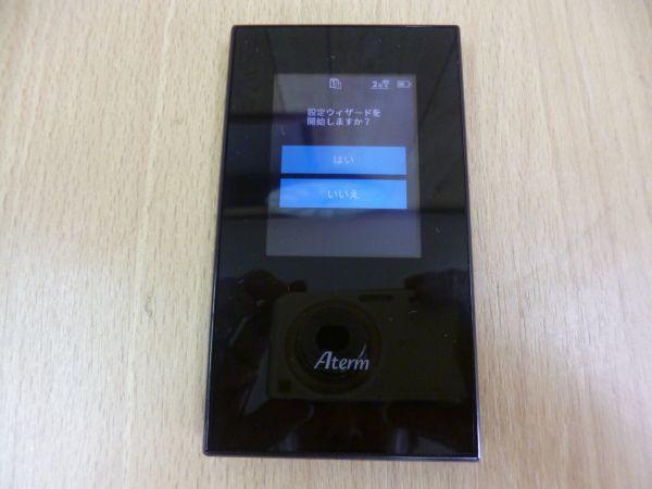 動作保証■NEC Aterm モバイル/wi-fiルーター SIMロックフリー/デュアルSIM対応 PA-MR04LN■_画像2