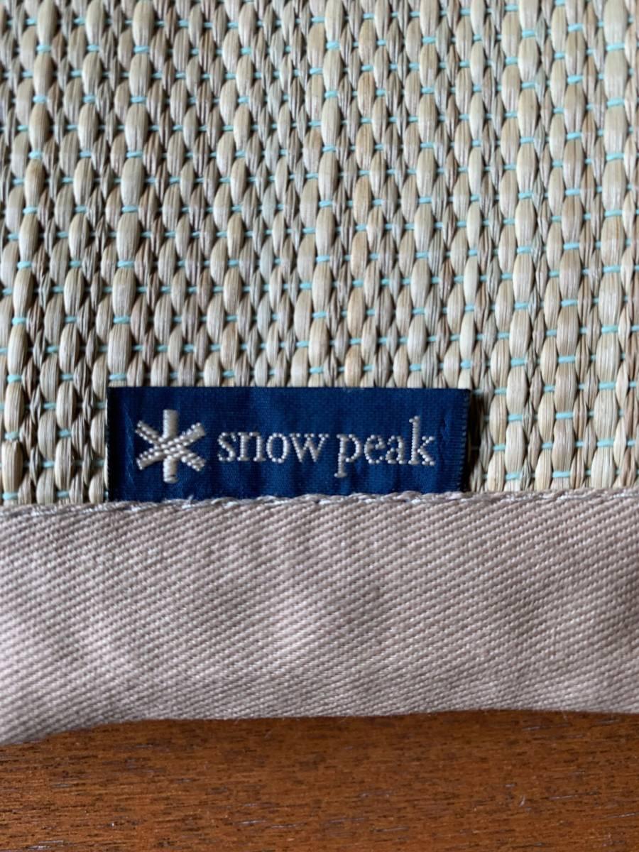 スノーピーク snow peak ゴザシート 非売品 2017春ノベルティ_画像2