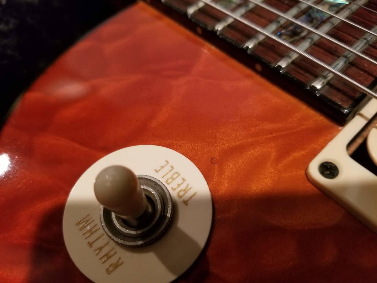 Gibson C/S製 TAK BURST【リフィニッシュ】【改造】【訳あり】_画像7