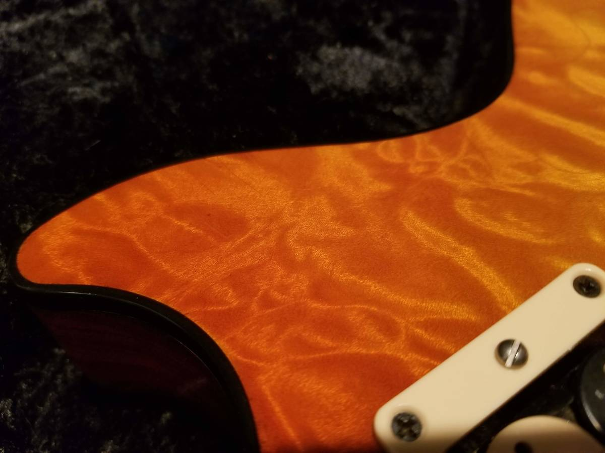 Gibson C/S製 TAK BURST【リフィニッシュ】【改造】【訳あり】_画像9