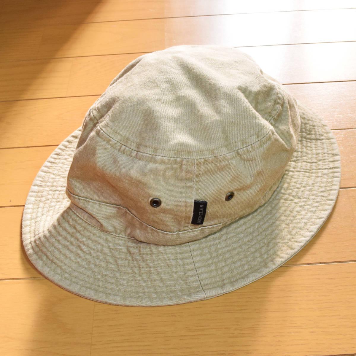正規品◆送料無料◆春夏◆美品◆希少◆MONCLER モンクレール◆バケットハット・帽子◆アウトドア・登山_画像4