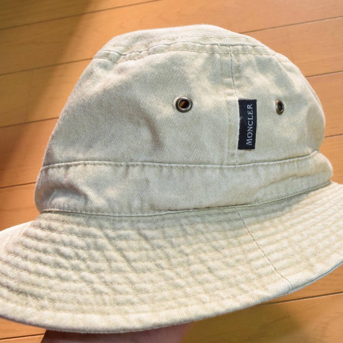 正規品◆送料無料◆春夏◆美品◆希少◆MONCLER モンクレール◆バケットハット・帽子◆アウトドア・登山_画像8