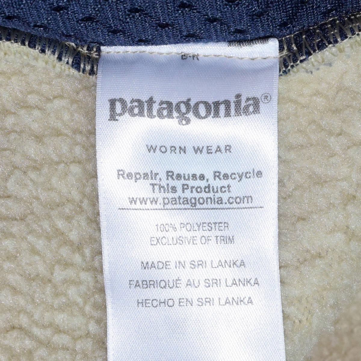 送料無料!人気カラー patagonia パタゴニア MEN'S retro pile jacket S サイズ レトロパイル ジャケット レトロX 希少22800FA18 ELKH_画像10
