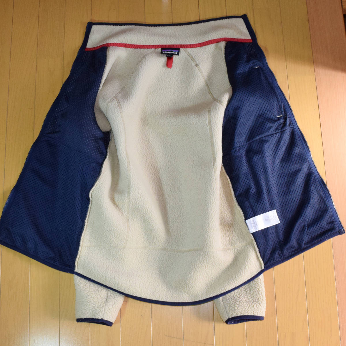 送料無料!人気カラー patagonia パタゴニア MEN'S retro pile jacket S サイズ レトロパイル ジャケット レトロX 希少22800FA18 ELKH_画像7