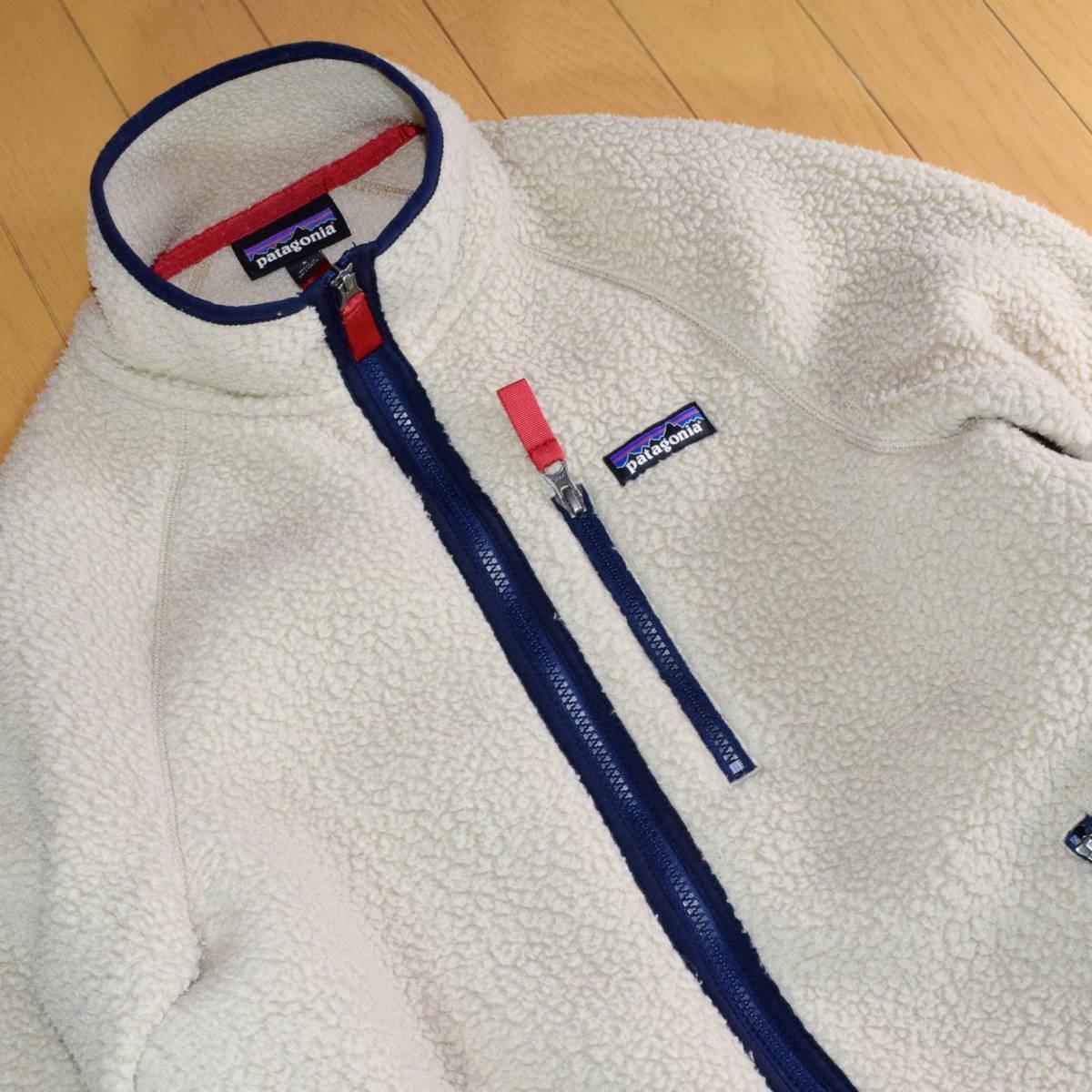 送料無料!人気カラー patagonia パタゴニア MEN'S retro pile jacket S サイズ レトロパイル ジャケット レトロX 希少22800FA18 ELKH_画像2