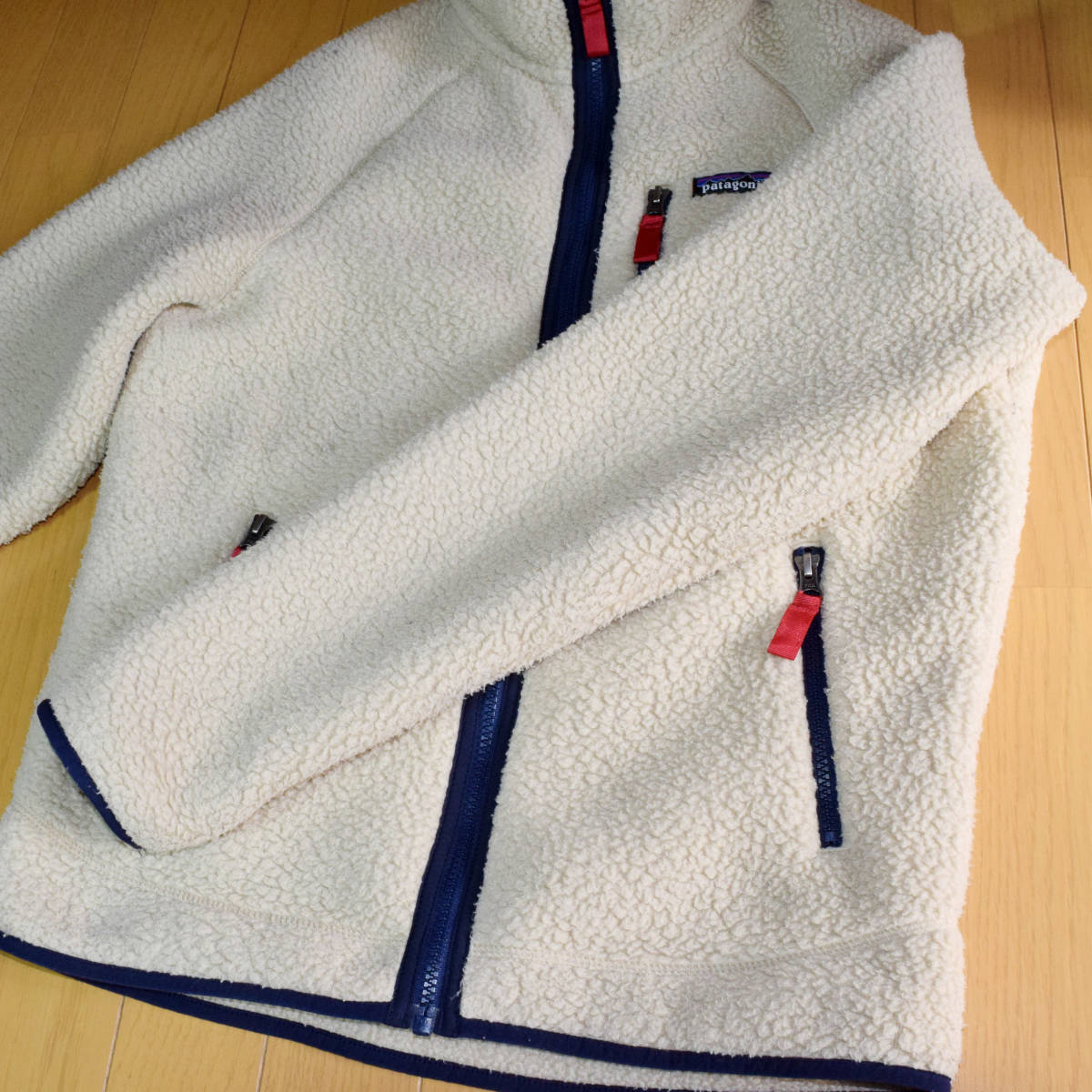 送料無料!人気カラー patagonia パタゴニア MEN'S retro pile jacket S サイズ レトロパイル ジャケット レトロX 希少22800FA18 ELKH_画像4