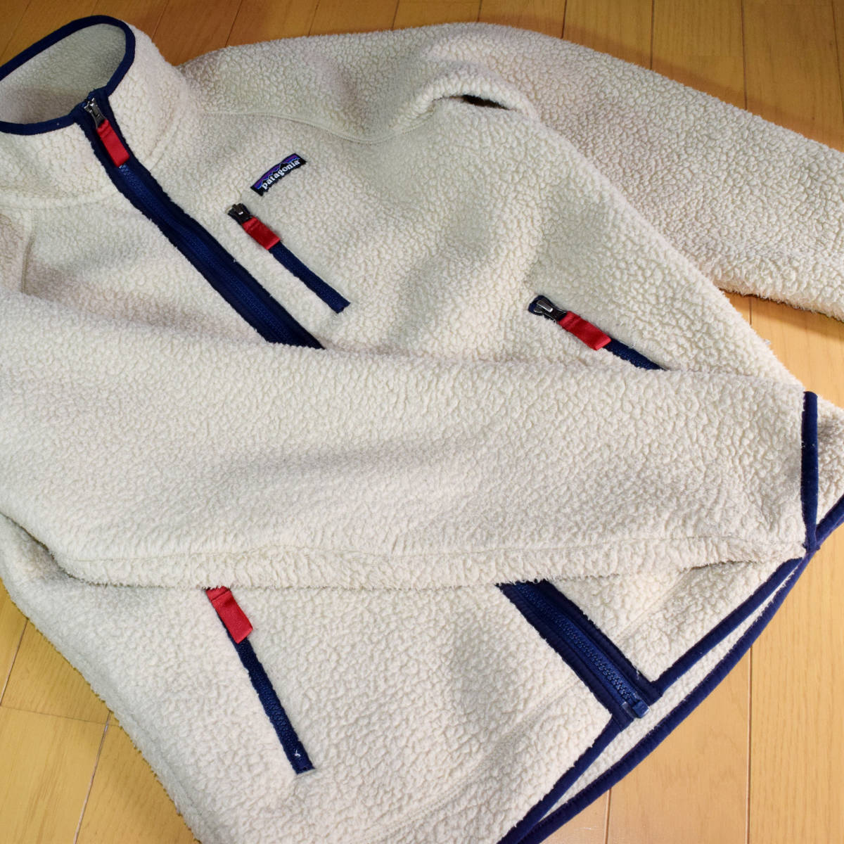 送料無料!人気カラー patagonia パタゴニア MEN'S retro pile jacket S サイズ レトロパイル ジャケット レトロX 希少22800FA18 ELKH_画像3