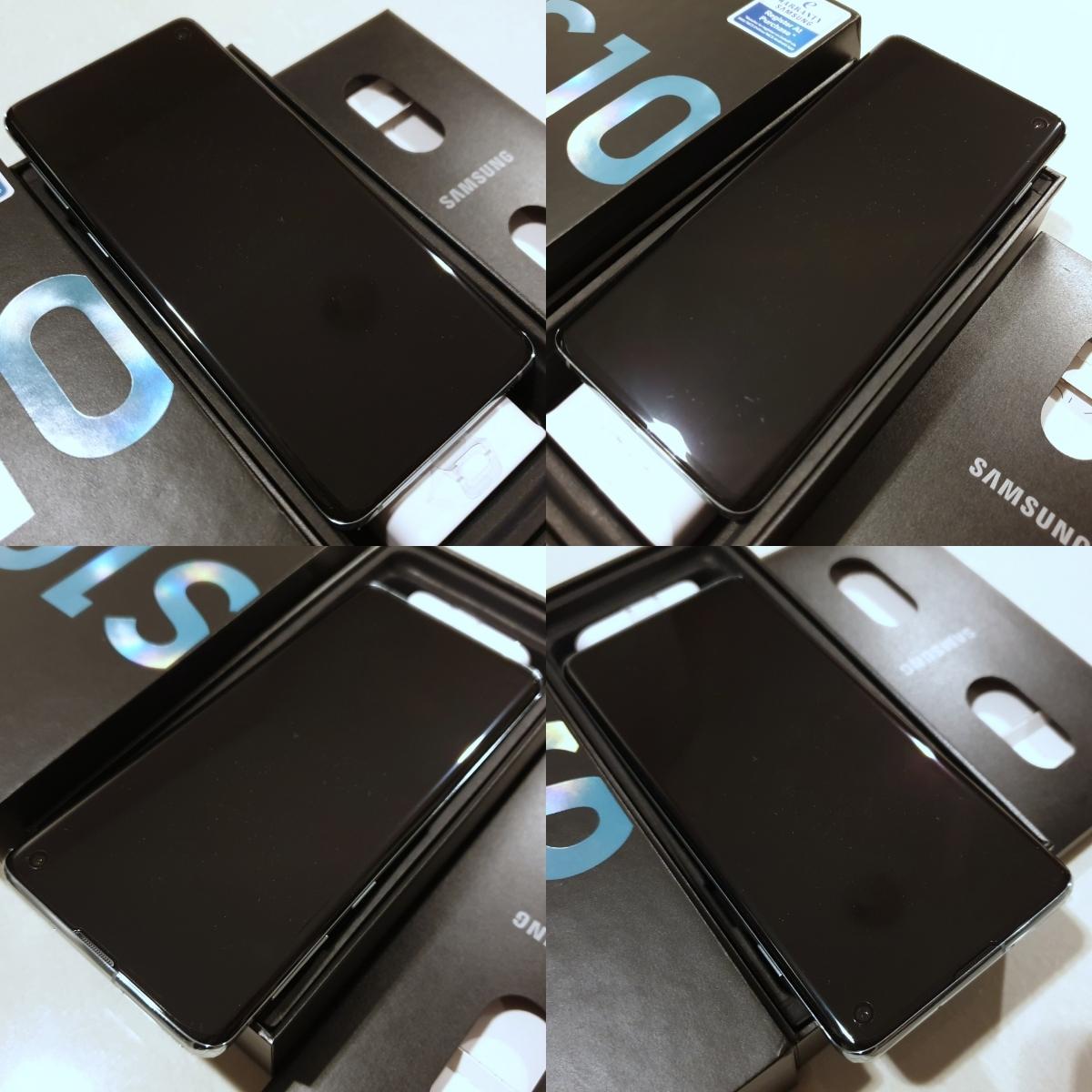 日本未発売 レア色 新品 未使用 グローバル版 simフリー Samsung Galaxy S10 SM-G973F/DS 128GB Dual Sim Prism Green プリズムグリーン_画像5