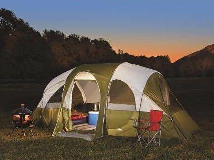 【アメリカ 直輸入】BIG テント Northwest Territory 8人用 アメリカ コールマン スノーピーク ノースフェイス キャンプ 大テント _画像2