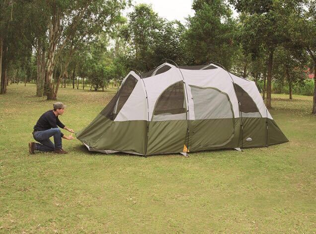 【アメリカ 直輸入】BIG テント Northwest Territory 8人用 アメリカ コールマン スノーピーク ノースフェイス キャンプ 大テント