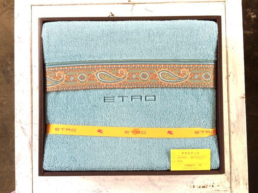 ETAO タオルケット 綿100% 140cm x 200cm 未使用