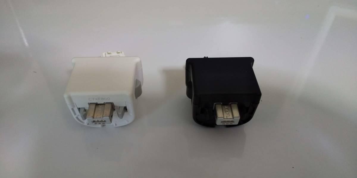 【中古】Wiiモーションプラス&ジャケット(白/黒)2個セット_画像3