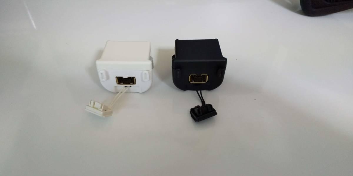 【中古】Wiiモーションプラス&ジャケット(白/黒)2個セット_画像2