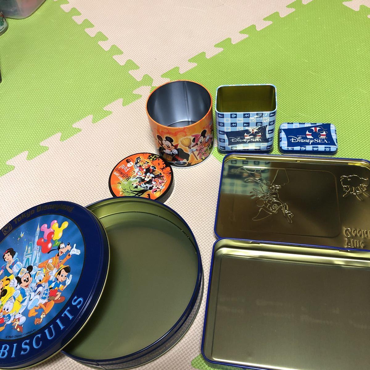 ディズニー★ディズニーリゾート お菓子缶3点&他お菓子缶1点_画像10