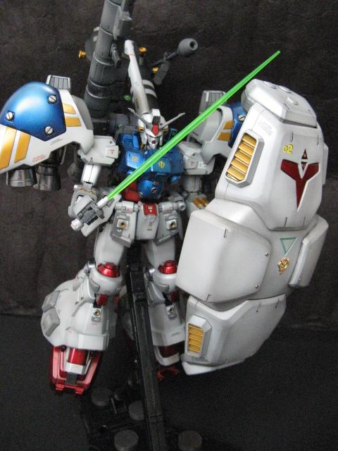 MG1/100ガンダムサイサリス塗装済完成品_画像6