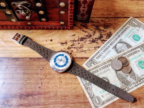 【激レア】1円スタート・週末特価◆オメガ◆OMEGA スイス高級ブランド メンズ アンティーク ヴィンテージウォッチ 中古 自動巻き 腕時計_画像4