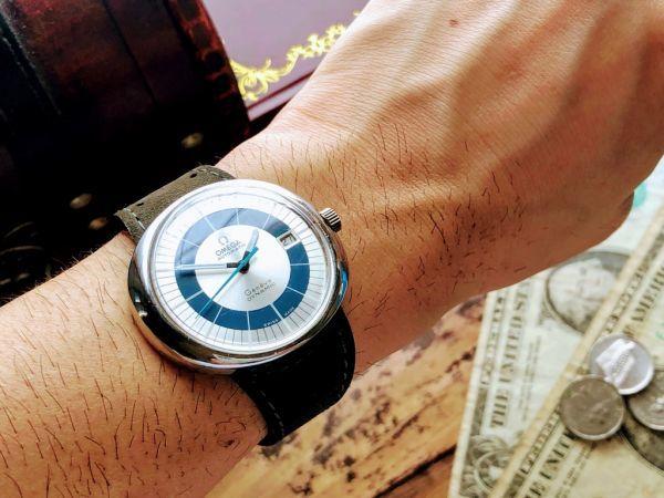 【激レア】1円スタート・週末特価◆オメガ◆OMEGA スイス高級ブランド メンズ アンティーク ヴィンテージウォッチ 中古 自動巻き 腕時計_画像8