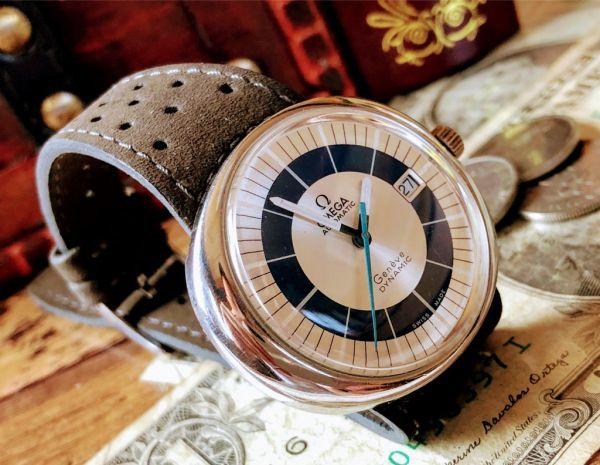 【激レア】1円スタート・週末特価◆オメガ◆OMEGA スイス高級ブランド メンズ アンティーク ヴィンテージウォッチ 中古 自動巻き 腕時計_画像7