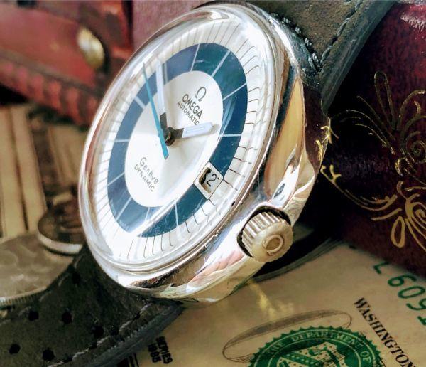 【激レア】1円スタート・週末特価◆オメガ◆OMEGA スイス高級ブランド メンズ アンティーク ヴィンテージウォッチ 中古 自動巻き 腕時計_画像2