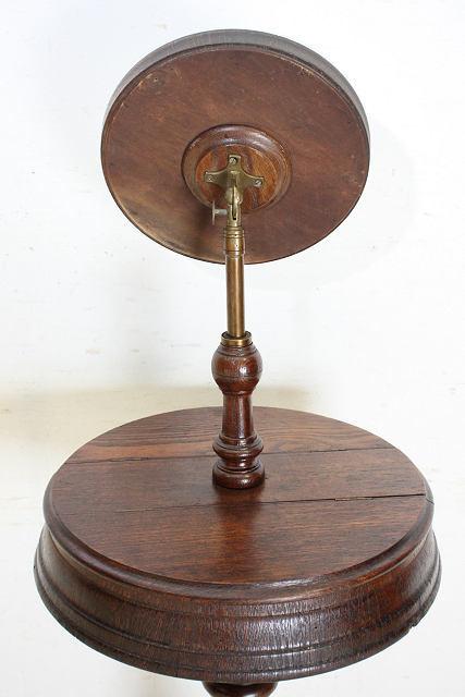 ミラー 鏡 アンティーク家具 an-4 1890年 イギリス製 アンティーク ビクトリアン オーク ジョージアンスタイル シェービングミラー_画像9