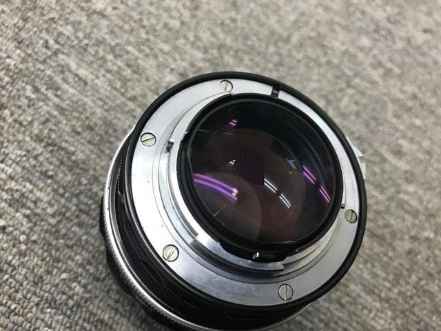 ジャンク 中古 Nikon/ニコン レンズ NIKKOR-S Auto 1:1.2 f=55mm_画像4
