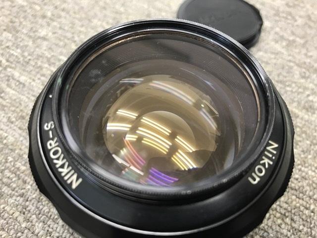 ジャンク 中古 Nikon/ニコン レンズ NIKKOR-S Auto 1:1.2 f=55mm_画像3