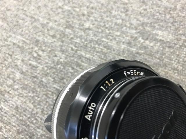 ジャンク 中古 Nikon/ニコン レンズ NIKKOR-S Auto 1:1.2 f=55mm_画像2