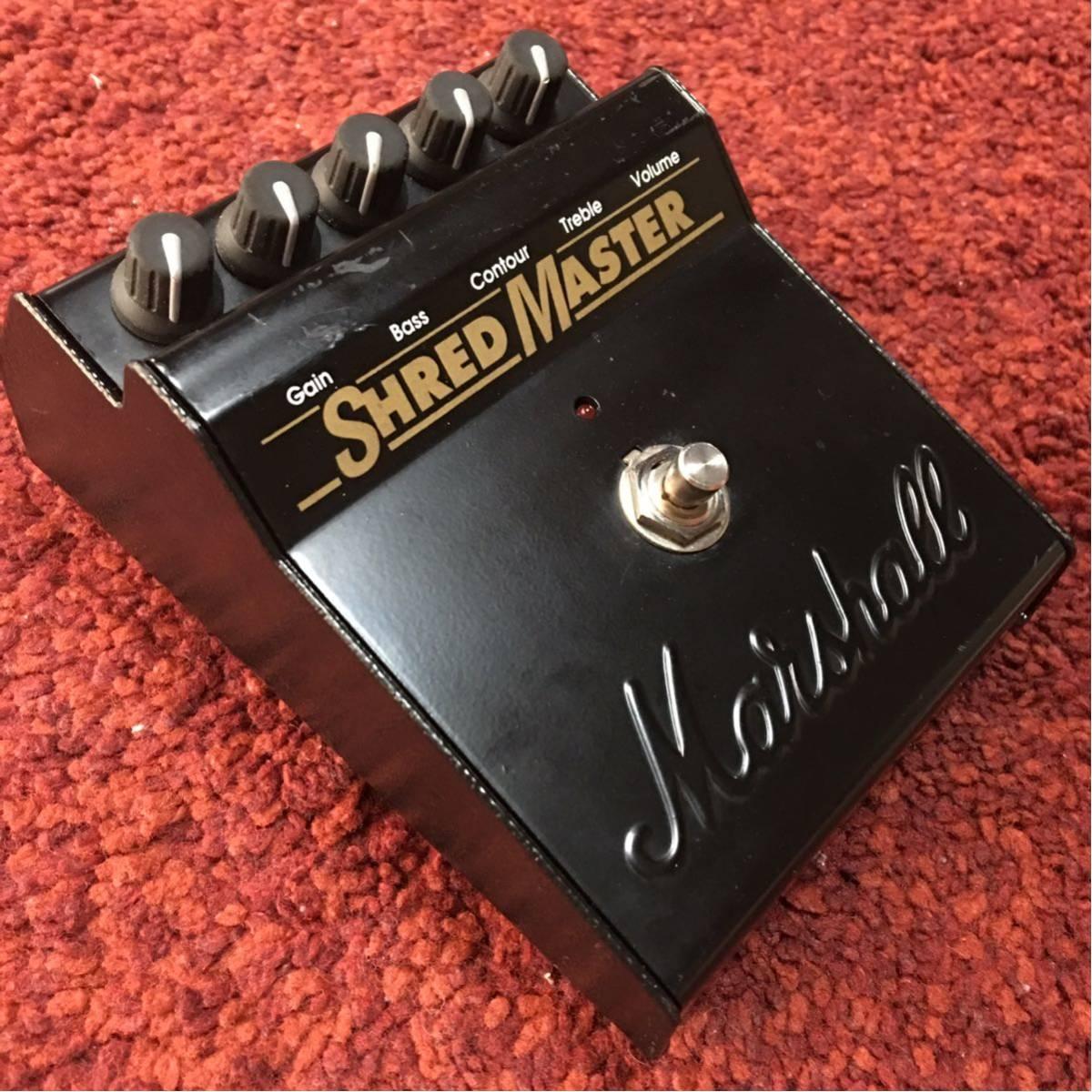 Marshall マーシャル SHRED MASTER シュレッドマスター RADIOHEAD ジョニーグリーンウッド使用