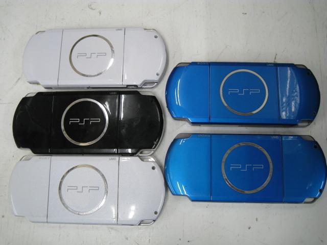 ★1円~SONY ソニー PSP 11台 まとめ売り PSP1000 PSP3000 バッテリーパック 箱など 大量セット ジャンク★_画像5