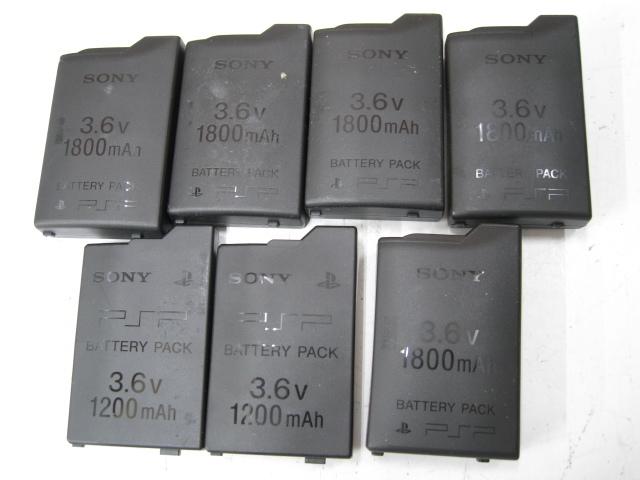★1円~SONY ソニー PSP 11台 まとめ売り PSP1000 PSP3000 バッテリーパック 箱など 大量セット ジャンク★_画像6