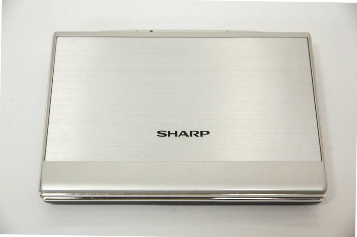 中古 美品 / シャープ SHARP / カラー電子辞書 / PW-AC880-S / シルバー _画像4