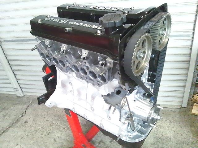 AE86 AE92 AE101 AE111 AW11 4AG 4スロ エンジン トレノ レビン 86 第5回
