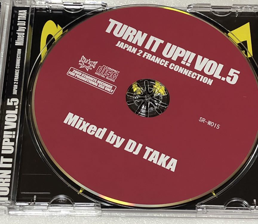 DJ TAKA TURN IT UP vol.5 JAPAN 2 FRANCE CONNECTION MIX CD 千葉 TALKBOX フランス_画像4